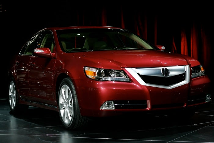 Chicago Auto Show: 2009 Acura RL Revealed, Gets Bigger Engine