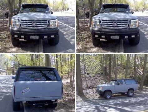 For Sale: Ford Bronco, Cadillac Escalade Mashup