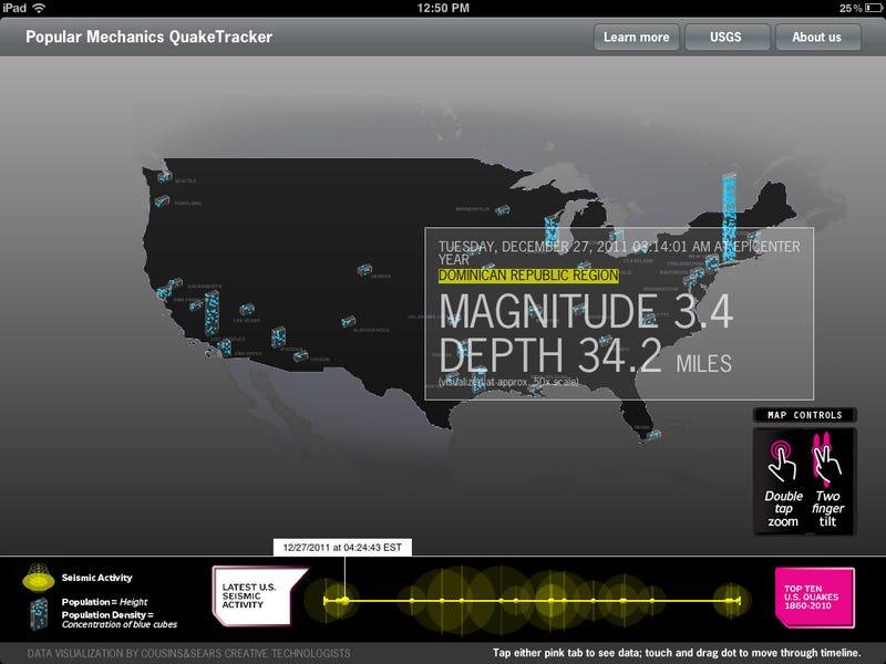 Popular Mechanics QuakeTracker Gallery