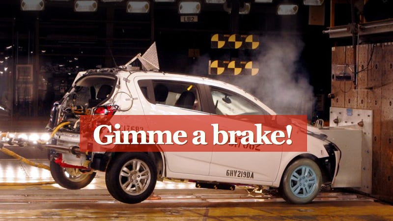 GM admits it maybe forgot to put brake pads on your Chevy Sonic