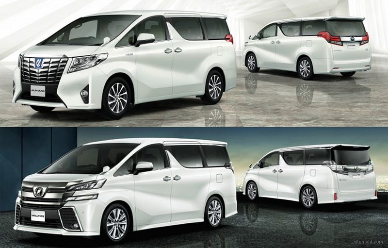 3rd Generation Toyota Alphard   Autos Post