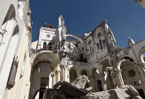 Inside the Devastation: 360 Degrees of Haiti's Holy Losses