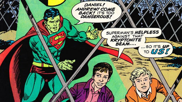 The time a billionaire bought his son a starring role in a Superman comic