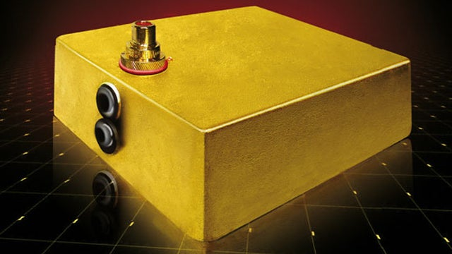 This Amplifier Is Worth More Than Its Weight in Gold