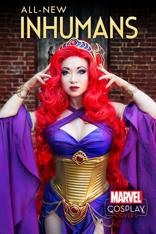 Marvel's Putting Cosplayers on the Covers of Its Biggest Comics