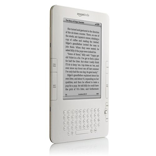 Kindle 2: $359, Thinner, More Storage and It Reads to You
