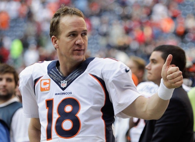 Peyton Manning Threw A Lot Of Touchdowns