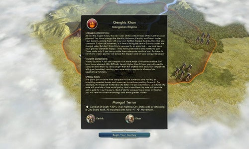 Civilization V Gets Free Mongols, But The Babylonians Will Cost You