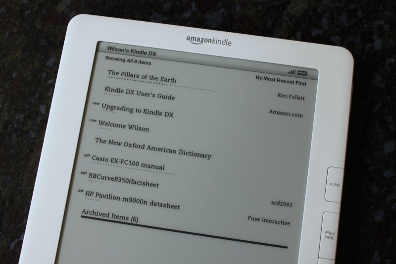 Kindle DX Review