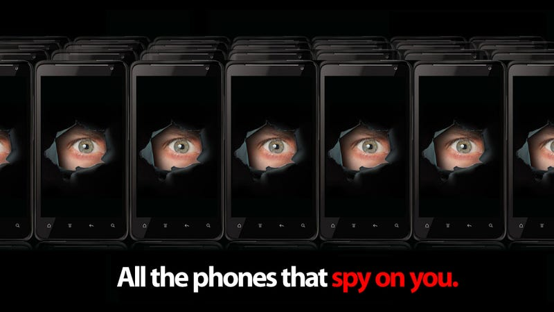 The Complete List of All the Phones With Carrier IQ Spyware Installed