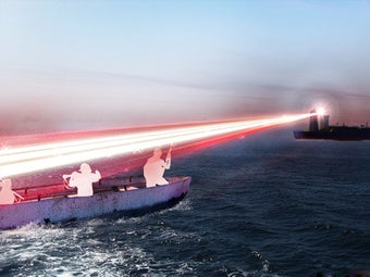 New laser to dazzle pirates on the high seas