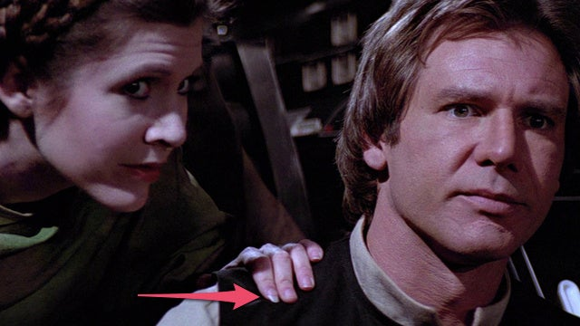 "And now, Princess Leia's ""coke nail"" from Return of the Jedi"