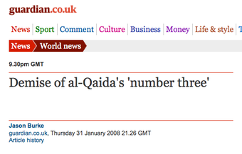 Whatever You Do, Don't Take the Al-Qaeda No. 3 Gig