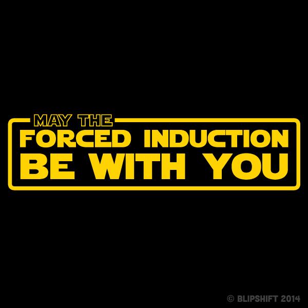 "New Blipshift Shirt - ""Use The Force"""