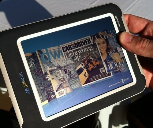 Promising Qualcomm Mirasol Color eReader Displays Delayed Until Early 2011