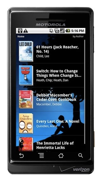 Kindle for Android Is Here, At Last