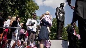 Million-Dollar Reagan Statue Unveiled in London