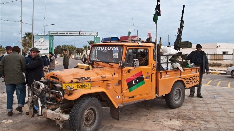 These are the trucks that power the Libyan Rebels