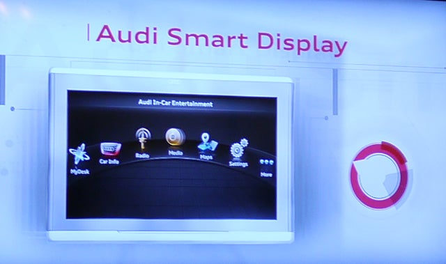 Audi Has an In-Car Tablet For Some Reason