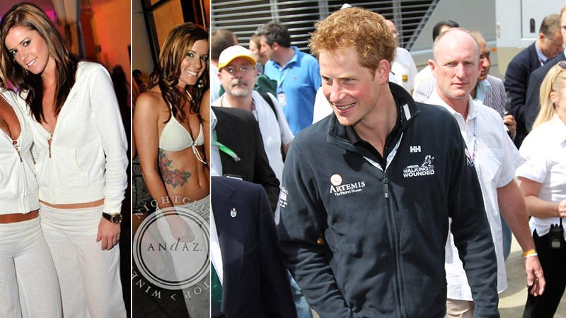 Prince Harry Is Dating a California Cocktail Waitress Who Looks Like Kate Middleton