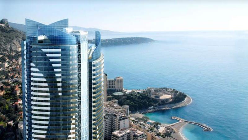 We All Want To Live In Monaco's Odeon Tower, But We're All Too Poor