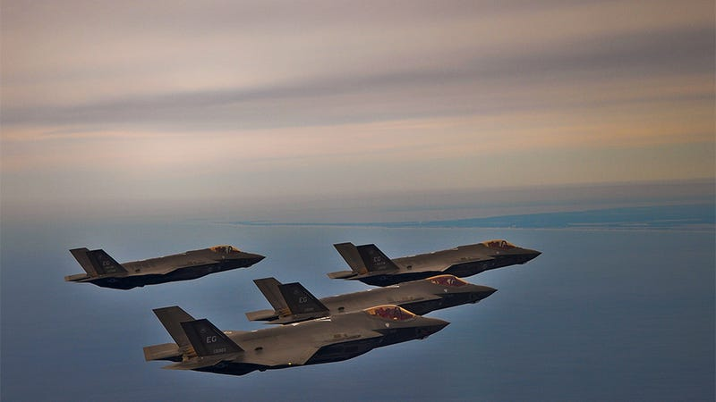 At Last, the USAF Has Enough F-35s to Fly a Decent Formation
