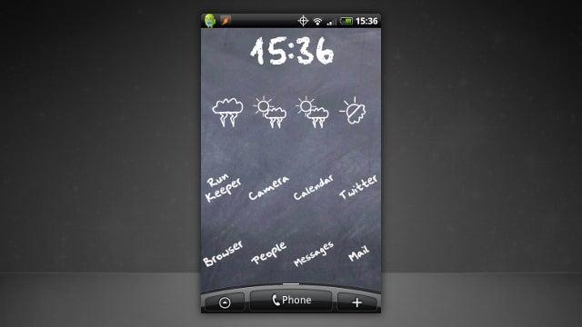 The Chalkboard Home Screen
