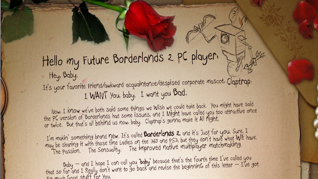 Gearbox Promises Not to Screw Up the PC Version of Borderlands 2
