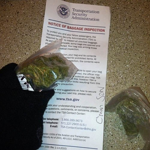 New Laid-Back TSA Lets You Fly With Weed