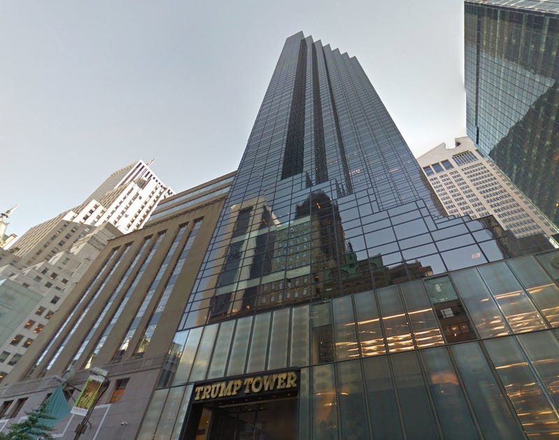 An Architectural Tour of Donald Trump's Gaudy Ass Skyscrapers