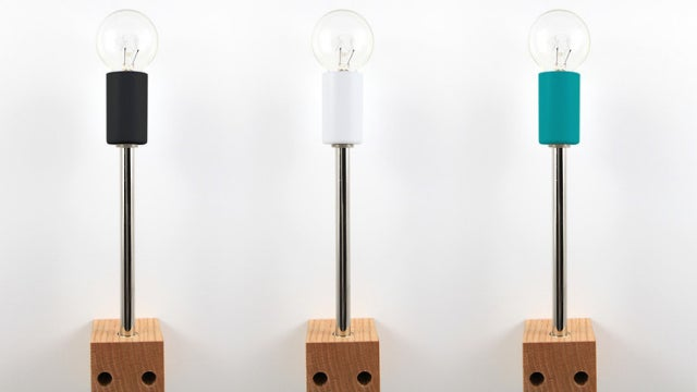 Assemble This Strikingly Spartan Lamp Any Way You Want To