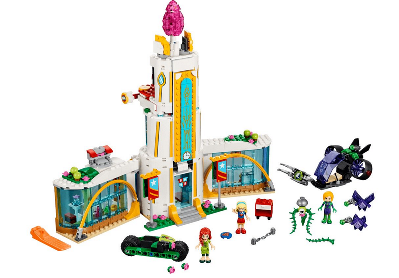 DC Super Hero Girls Sets Make The Most Of Lego's Friends Line