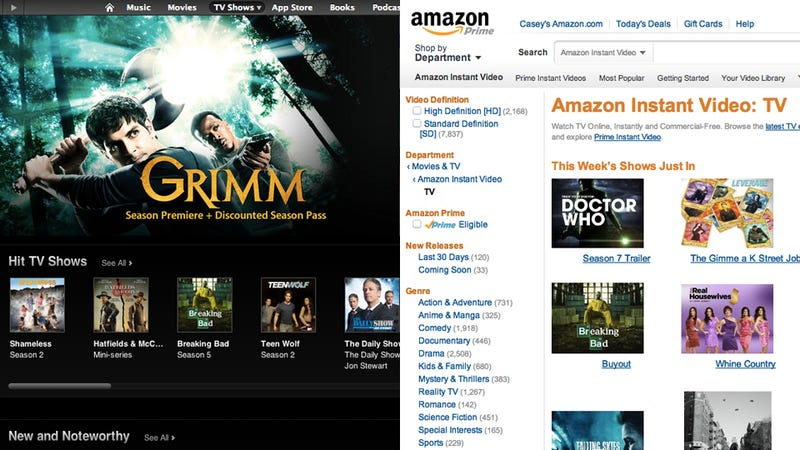 Do You Buy Your Movies and TV Shows from iTunes or Amazon?