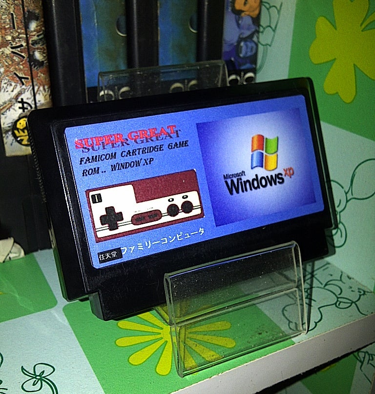 It's Windows XP. For The...Nintendo Famicom.