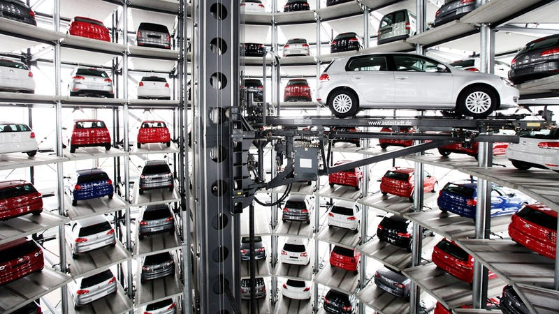 The Most Amazing Parking Spaces In The World