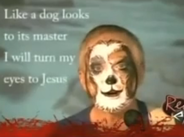 Meet The Dog-Faced Man Howling About Jesus