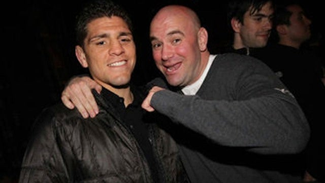 "Dana White Is ""Beyond Disappointed"" That Nick Diaz Tested Positive For Pot...Again"