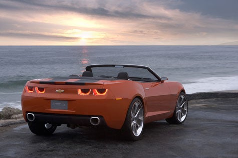 Why Not? New PR Shots of the Camaro Convertible Concept