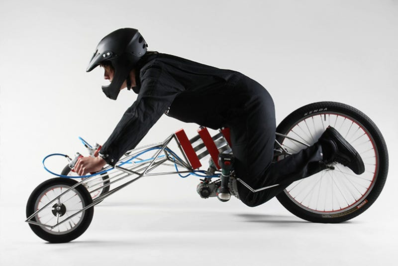 The Trike Powered by Two Bosch Power Tools