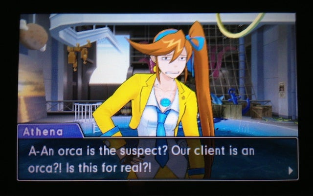 In Today's Phoenix Wright DLC, The Murder Suspect Is... A Whale