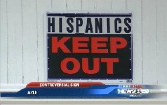 'Hispanics Keep Out' Guy Loves Nachos, Friendship
