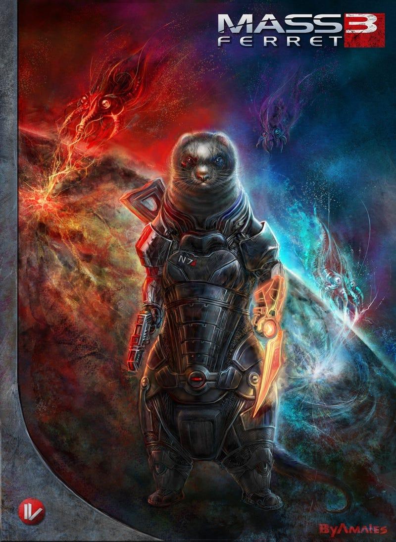 A Mass Effect Commander Shepherd Unlike Any You've Ever Seen