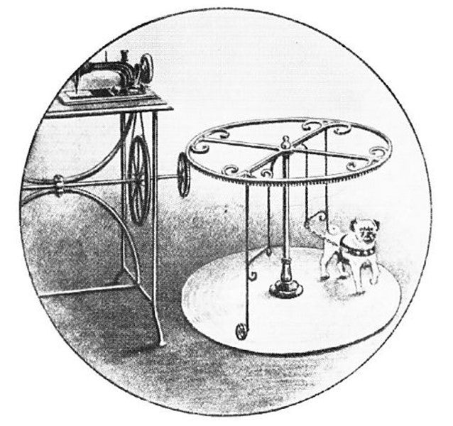 Forget steam: Some Victorian era machines were powered by dogs