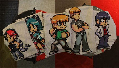 These Lucky Two Won Five Great Scott Pilgrim Shirts