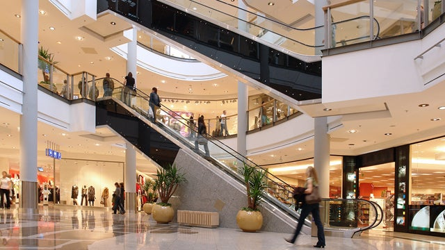 Malls Being Transformed Into Havens for Old and/or Lazy People
