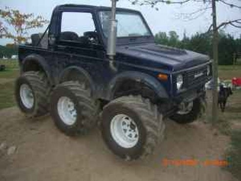 Amazing Suzuki Samurai Six Wheeler For Sale On Craigslist