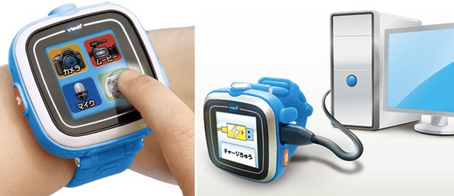 A Smartwatch For Kids That One-Ups Apple's With a Built-in Camera