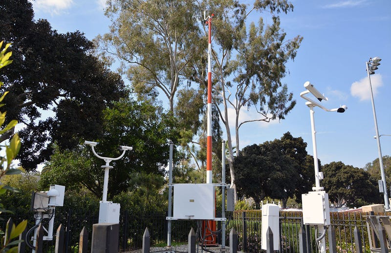 The High-Tech Sensors That Keep Track of L.A.'s Weather