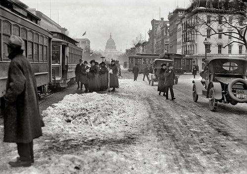 Snowpocalypse: 1918 Edition