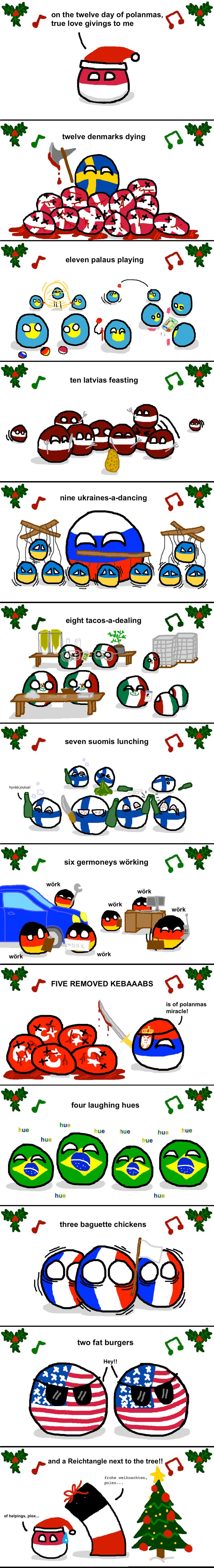 Daily Polandball: Holiday Music.
